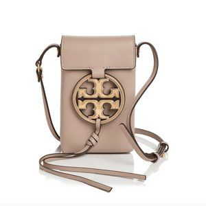 TORY BURCH MILLER MEAL LOGO PHONE CROSSBODY BAG